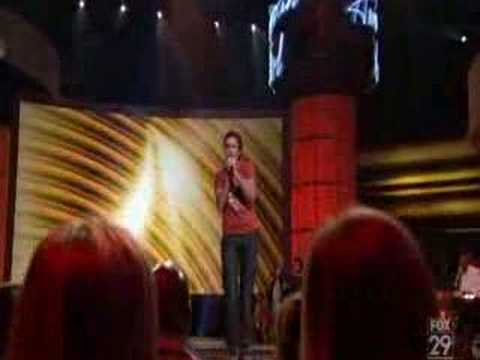 Michael Johns - American Idol -  You Can Go Your Own Way