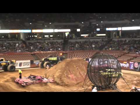 Monster Jam Bi-Lo Center 1-28-2012 FMX