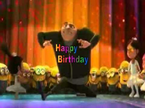 Happy Birthday, Despicable Me Style!