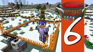 Modsauce: A Minecraft Modded LP - E6 Quarrying Power and Genes