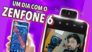 UM DIA COM O ZENFONE 6! (HANDS ON)