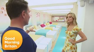 Laura Whitmore Gives an Exclusive Tour of the Love Island Villa | Good Morning Britain
