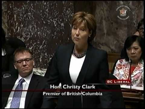 May 30, 2011 BC Legislature Question Period
