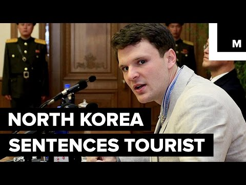 North Korea Sentences American Student to 15 Years in Prison