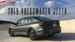 Surprisingly Elegant!---2019 Volkswagen Jetta SEL Premium Review!