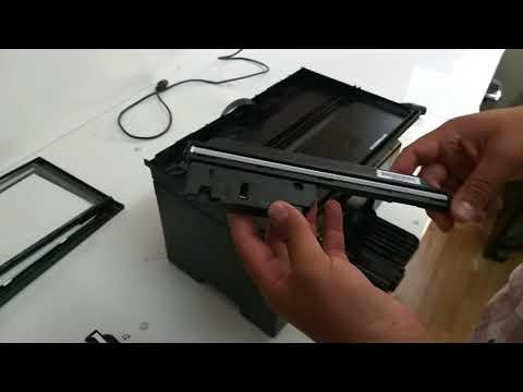 Hp Laserjet M1132 mfp Code E8 Scanner Error
