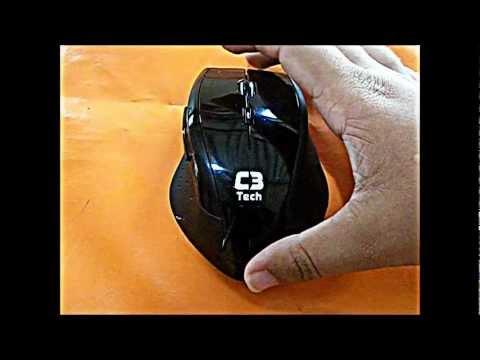 Dica/Review Mouse laser C3 tech: Desempenho e bom preço.