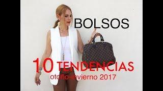 10 TENDENCIAS DE BOLSOS/OTO- INV 2017