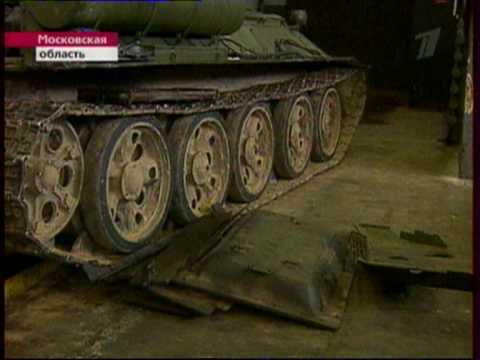Танк Т-34 через 65-лет после войны.