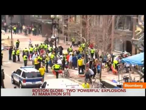 Boston Marathon Explosion Aftermath: Initial Video