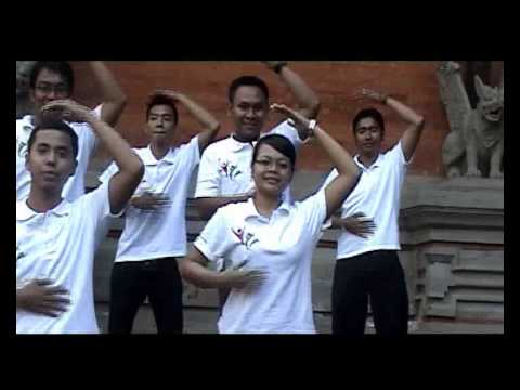 Senam Otak Kanan Indonesia Yes Bali video