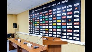 """Пресс-конференция """"Салават Юлаев"""" - """"Адмирал"""""""