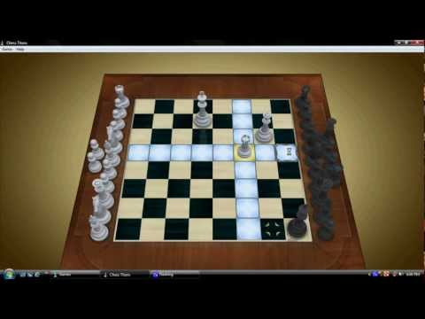 End game chess win-Against computer