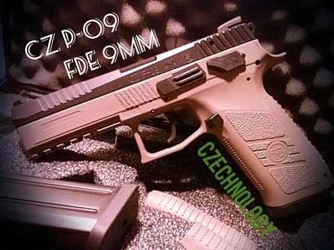 CZ P-09 FDE 9mm 19+1