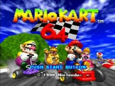 Mario Kart 64: Toad's Turnpike