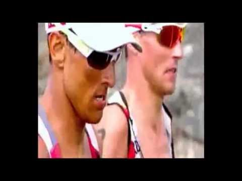 'It's like the iron war !' - Ironman World Championships 2010 Chris McCormack Andreas Raelert