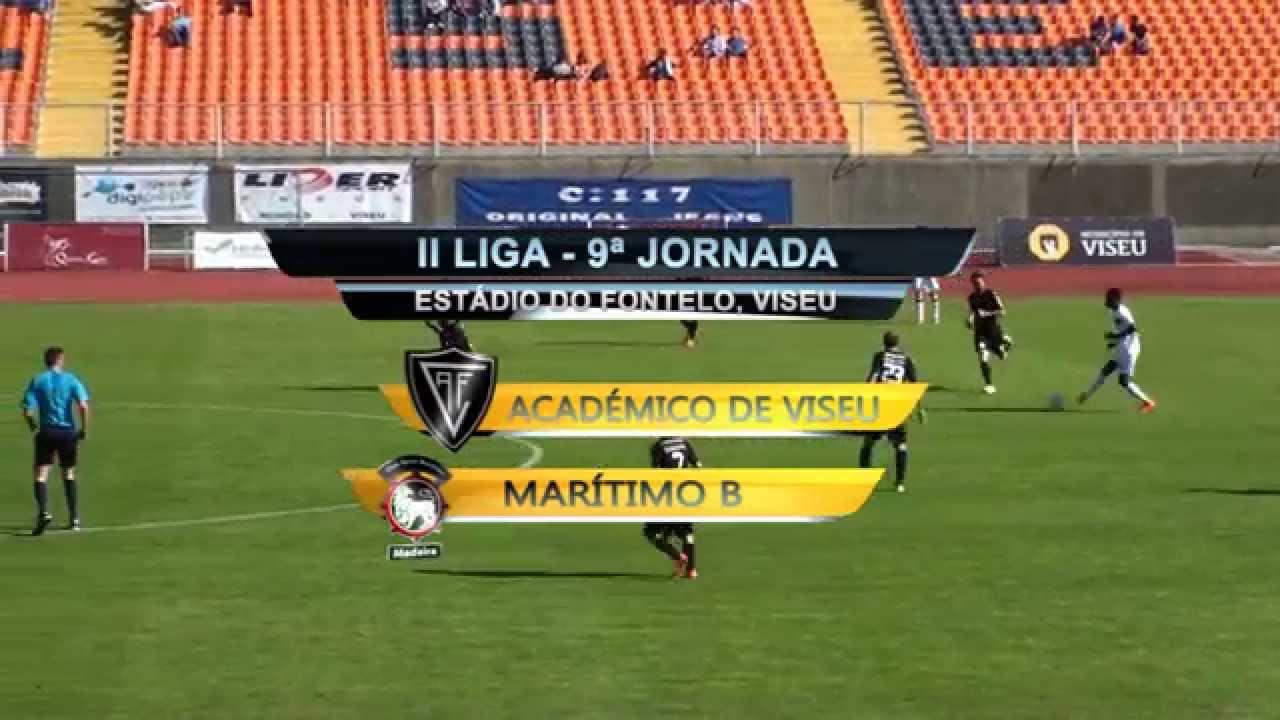 Viseu 3-0 Maritimo B