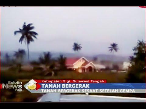 Detik-Detik Lumpur & Tanah Bergerak Saat Gempa di Sigi Terekam Video Amatir - BIP 30/09