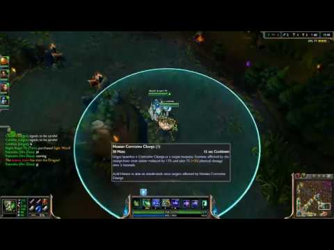Kevin3a15 - BEST URGOT TW OR WORLD [Diamond l - 2500+ elo]
