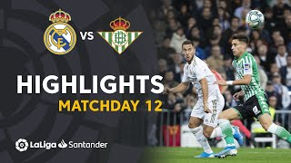 Highlights Real Madrid vs Real Betis (0-0)