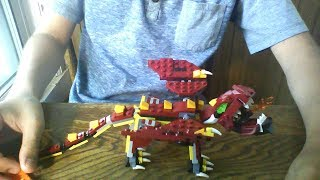Lego CREATOR MYTHICAL CREATURES SECRET BUILD!