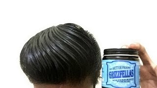 REVIEW POMADE INDONESIA- GRIZZFELLAS WATERBASED ( Hair cologne )