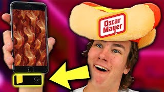 Oscar Mayer Made a Bacon iPhone Gadget?