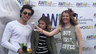 G Hannelius and Blake Michael Interview at Art in the Afternoon!