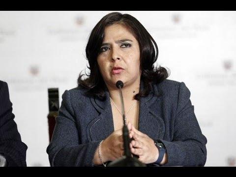 Ministra de la Mujer se une a campaña contra el uso de pirotécnicos