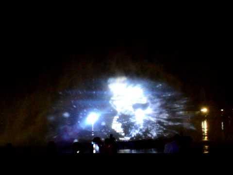 Лазерное шоу на XXI. Мой Тихий океан