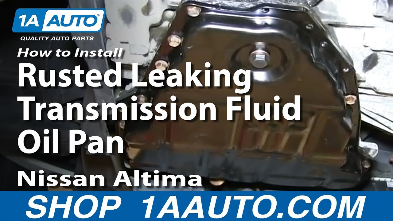 How To Install Replace Rusted Leaking Transmission Fluid