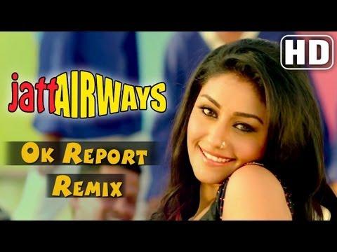 Ok Report Remix - Jatt Airways - Mahek Chahal , Alfaaz , Padam video
