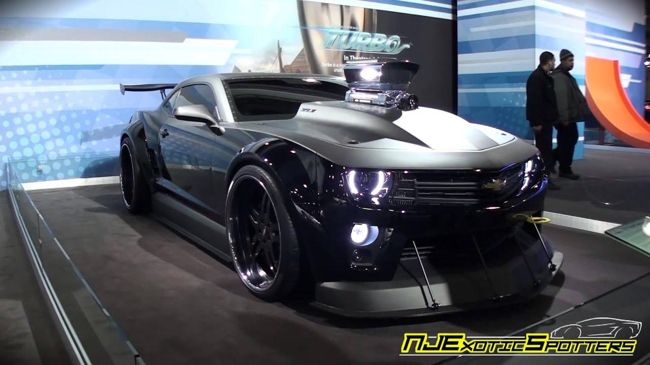 Zl1 Camaro Quot Turbo Quot 2013 Ny Auto Show Youtube