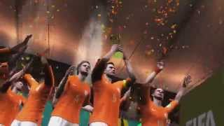 2014 FIFA World Cup Brazil: Netherlands wins the World Cup! (HD Gameplay)