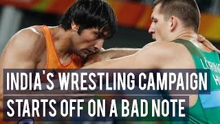 Rio Olympics 2016: India's wrestling campaign starts off on a bad note