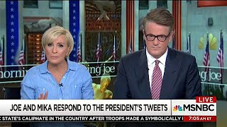 US TV hosts hit back at Trump