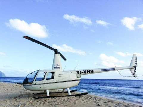 VANULIFE - Vanuatu Tourism Portal - Helicopter flight over Port Vila