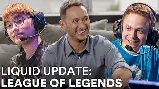 Liquid Update - League of Legends Roster Changes | Jensen and CoreJJ Join Team Liquid