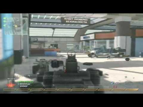 Modern Warfare 2: Team Deathmatch - Scar-H on Terminal (Gameplay/Commentary) Video
