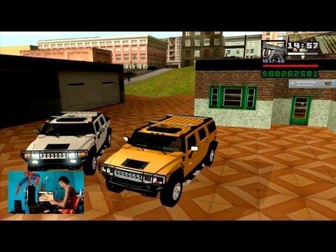 Taxi Hummer H2 Suv e Sut para GTA San Andreas 2013