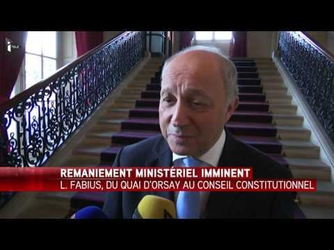 """Laurent Fabius : """"C'est une maison que j'ai beaucoup aimée"""""""