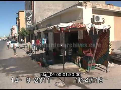 Scènes de rues à Tripoli