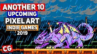 Another 10 MORE Pixel Art Indie Games for 2019 & Beyond! (Upcoming Indie Games)