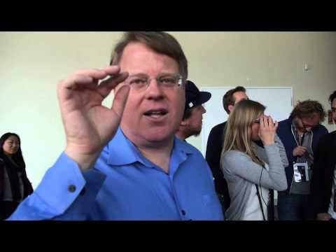 Robert Scoble shows Google Glass