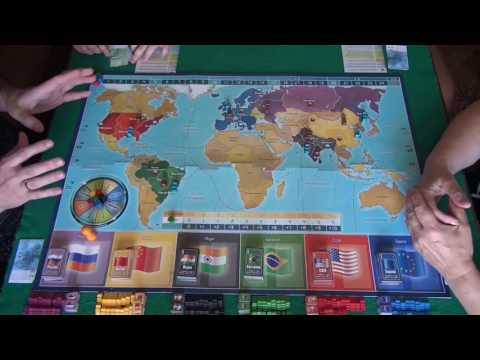 Империал 2030, 1/2 часть - играем в настольную игру.