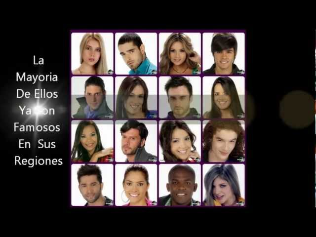 Protagonistas De Nuestra Tele FARSA 2012