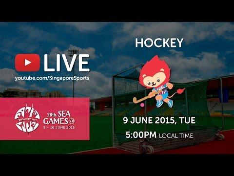 Hockey women Malaysia vs Indonesia | 28th SEA Games Singapore 2015
