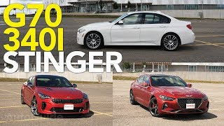 Genesis G70 vs BMW 3 Series vs Kia Stinger: Does BMW Still Make the Best Sport Sedan?