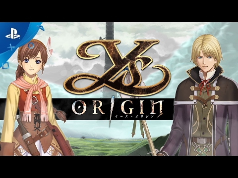 Ys Origin - Yunica and Hugo Trailer | PS4