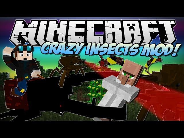 Minecraft | CRAZY INSECTS MOD! (Hercules Beetles, Praying Mantis & More!) | Mod Showcase